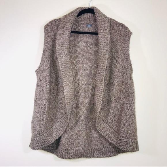 aerie Sweaters - Aerie Alpaca Blend Sleeveless Cardigan - #1128